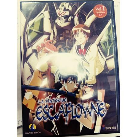 DVD La visión de Escaflowne.
