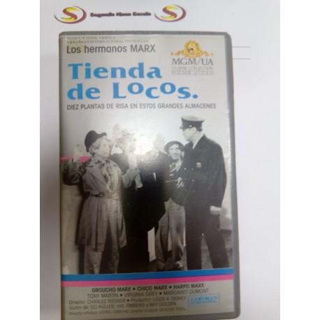 VHS Tienda de locos