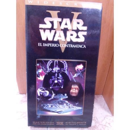 VHS El imperio contraataca