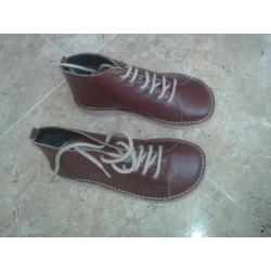 Zapato Relax piel con cordones.