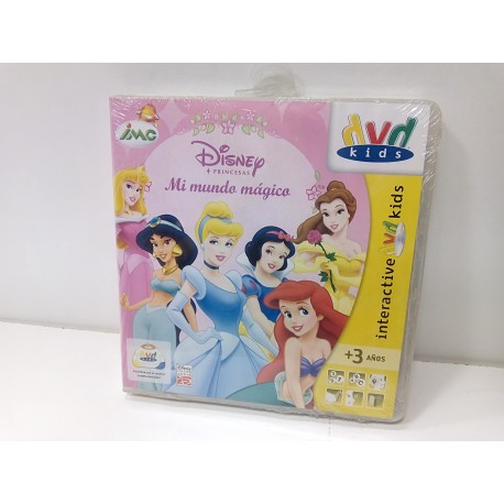 DVD interactivo Princesas.