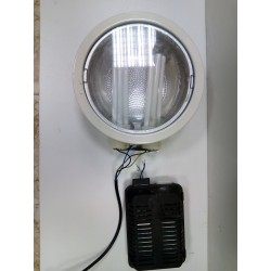 Downlight con bombillas.
