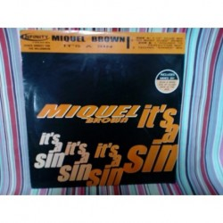 Vinilo Miquel Brown It's a sin