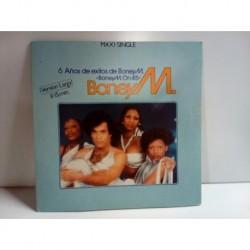 Vinilo Boney M 6 años de exitos