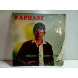 Vinilo Raphael Digan lo quevdigan