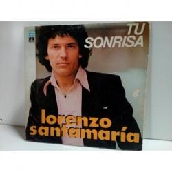 Vinilo Lorenzo Santamaria Tu sonrisa