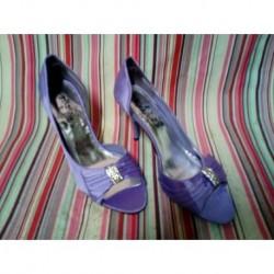 Zapatos fiesta purpura
