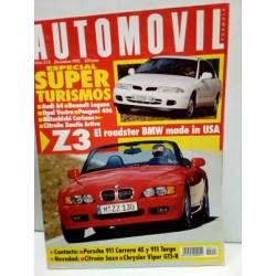 Revista AUTOMOVIL año 1995