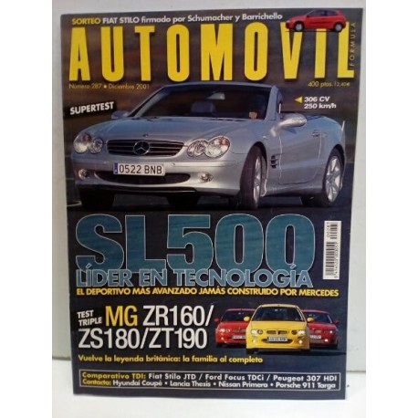 Revista AUTOMOVIL 287