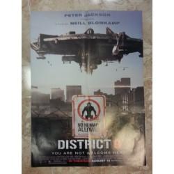 Póster doble: Malditos bastardos/ District 9