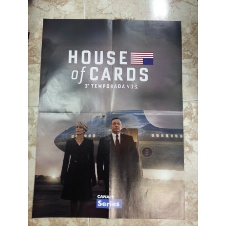 Póster doble: Kingsman/House of Cards