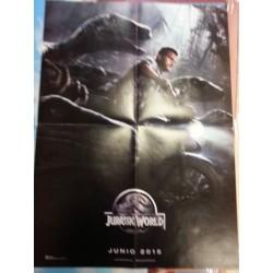 Póster doble: Batman Vs Superman/Jurassic World