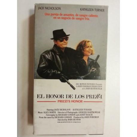VHS El honor de los Prizzi