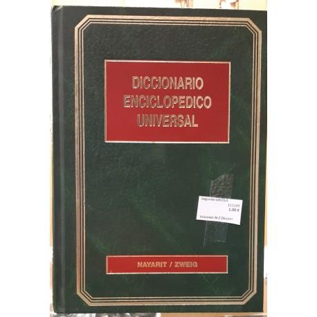 Volumen N-Z Diccionario Enciclopédico Universal