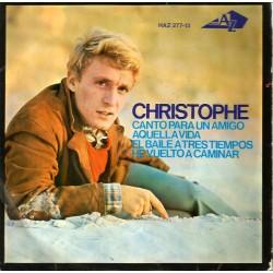 Christophe – Canto Para Un Amigo