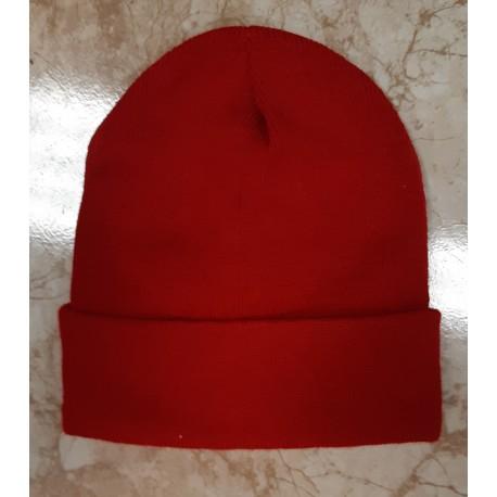 Gorro lana rojo