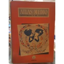 Atlas medio universal y de España.