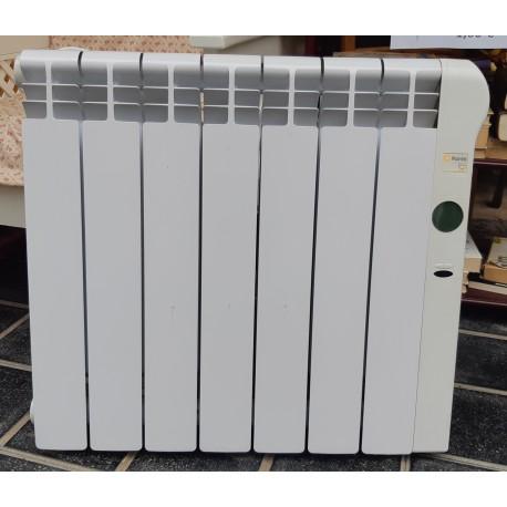 Radiador bajo consumo Rointe 7 elementos.