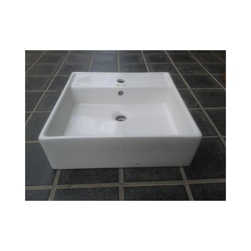 Lavabos cuadrados sobre encimera elegant comparador for Lavabos cuadrados sobre encimera