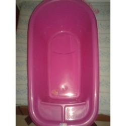 Bañera plástico.