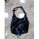 Bolso plástico negro.