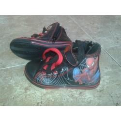 Zapatilla Spiderman Black