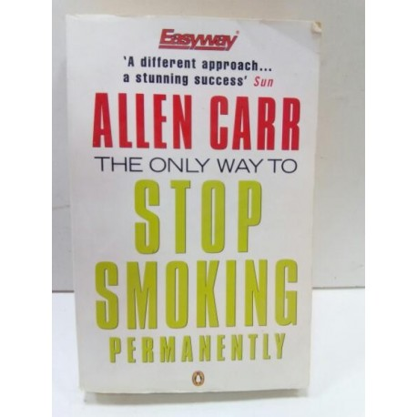 The only way to stop smoking permanenty