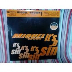 Vinilo Miquel Brown It's a sin