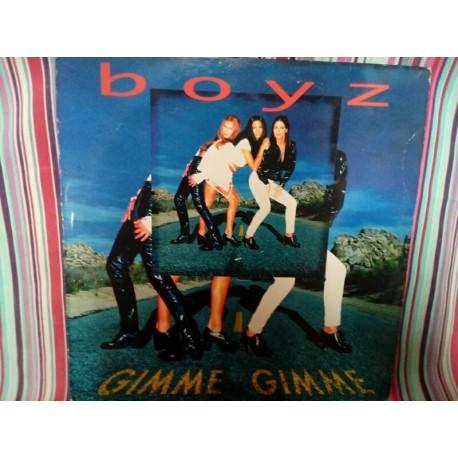 Vinilo Boyz Gimme Gimme