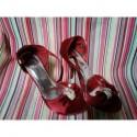 Zapatos lazo rojo