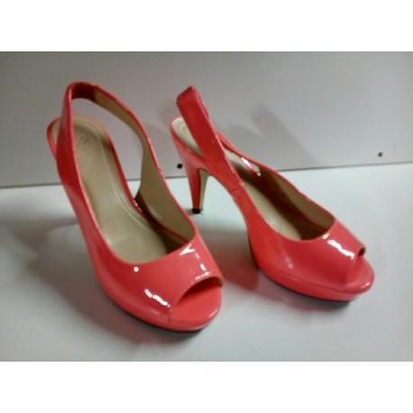 Zapatos salmón