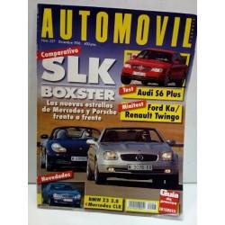 Revista AUTOMOVIL año 1996