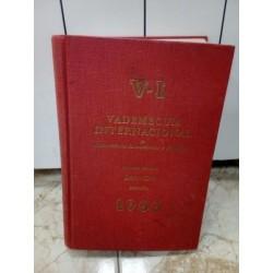 Vademecum Internacional 1966