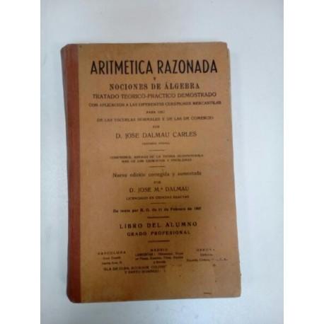 Aritmética Razonada