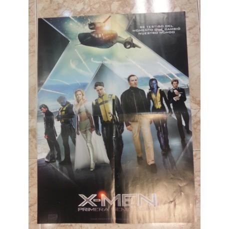 Póster doble X-men/El final ha llegado