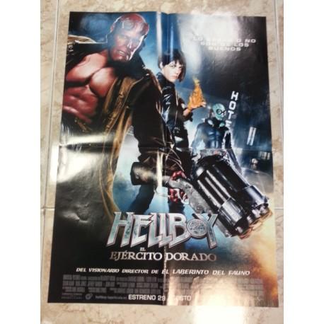 Póster doble: Babylon/Hellboy