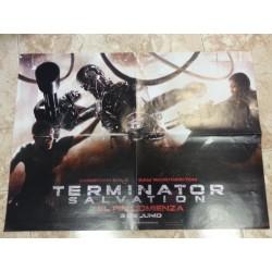 Póster doble: Terminator/Transformers