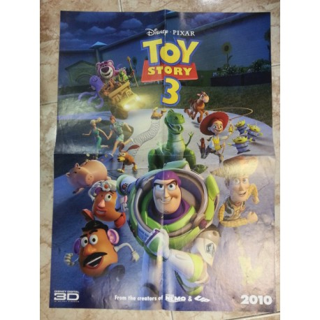 Póster doble: Toy Story/A nightmare on Elm Street