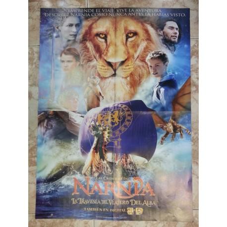Póster doble: Las crónicas de Narnia/Tron Legacy