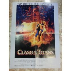 Póster doble: Furia de titanes/Clash of the titans