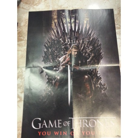 Póster doble: Brave/Game of Trones