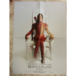 Póster doble: Sinsajo/The Strain
