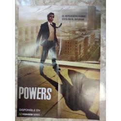 Póster doble: Jurassic World/Powers