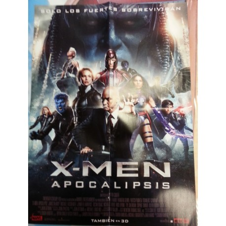 Póster doble: X-Men/Person of interest