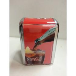 Servilletero bar Coca-cola.