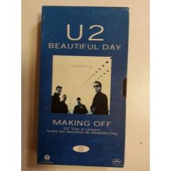 VHS U2 Beautiful Day. Making off.