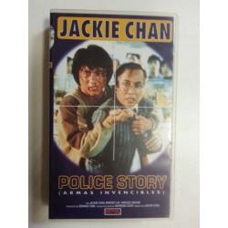 VHS Armas invencibles. Police Story