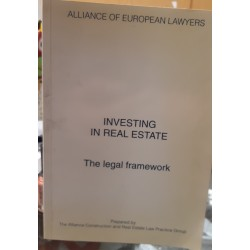 Investing in real estate. The legal famework