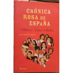 Crónica rosa de España