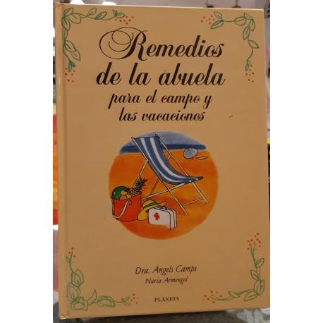 REMEDIOS DE LA ABUELA PARA EL CAMPO Y LAS VACACIONES.